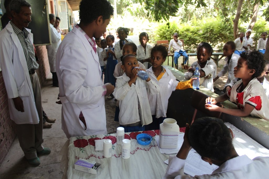 Ethiopia's National Deworming Program To Deworm 16.5 Million Children