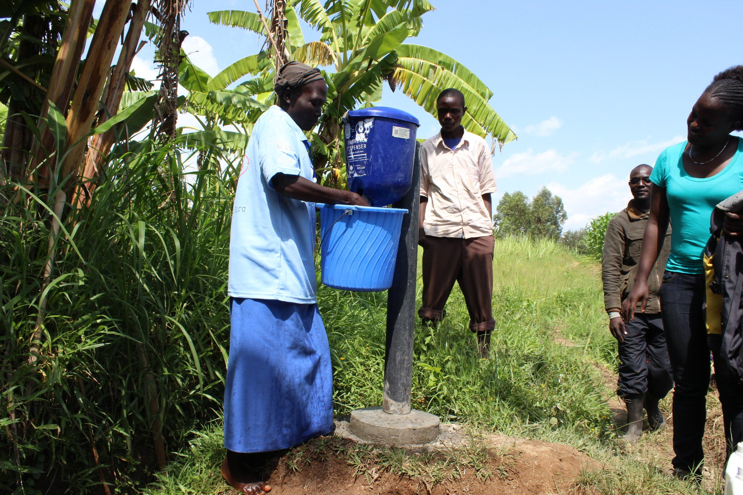 Dispensers for Safe Water: An Updated Review of the Evidence