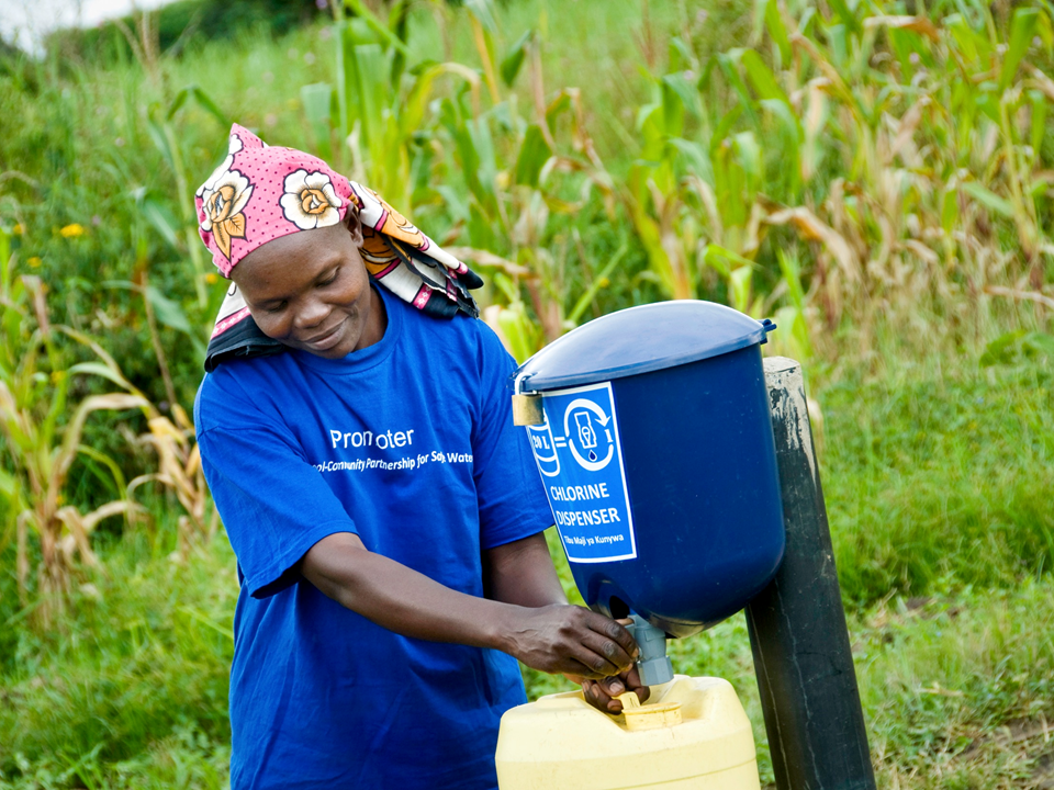 Dispensers for Safe Water: Innovation with Impact